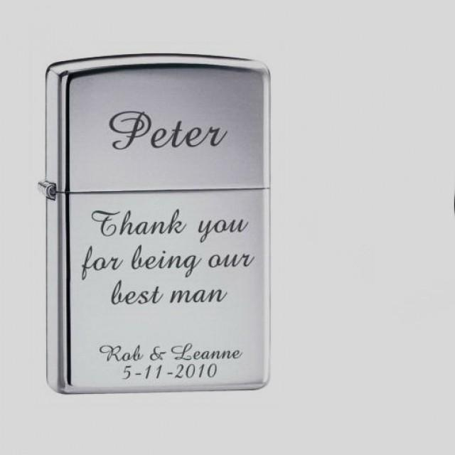 Personalized Metal Lighters Engraved Lighter Groomsmen