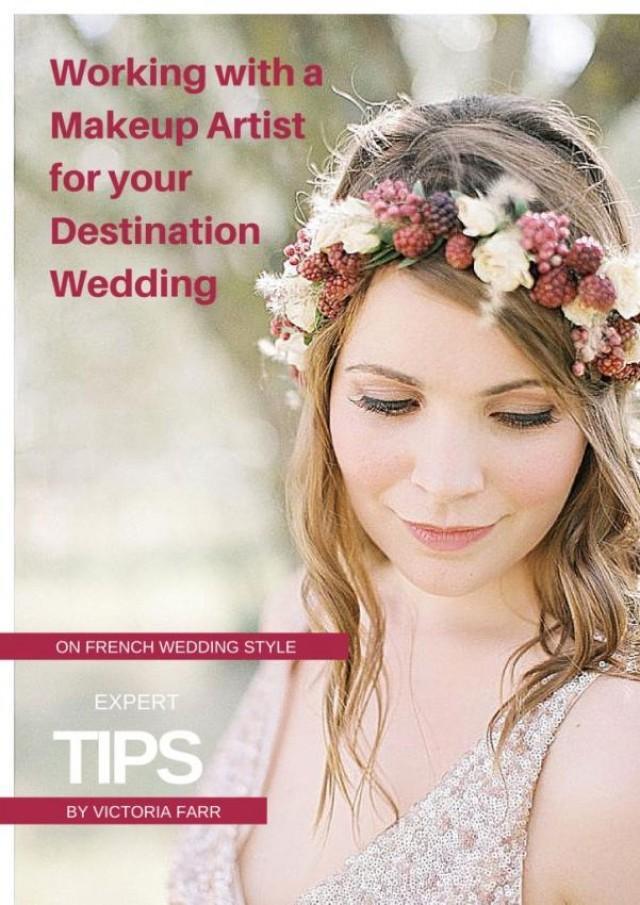 Destination Wedding Makeup Ideas : Working With Makeup Artist For Your Destination Wedding ...