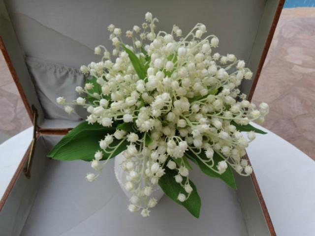 Lily Of The Valley Wedding Bouquet: Bridal Bouquet In Lily Of The Valley
