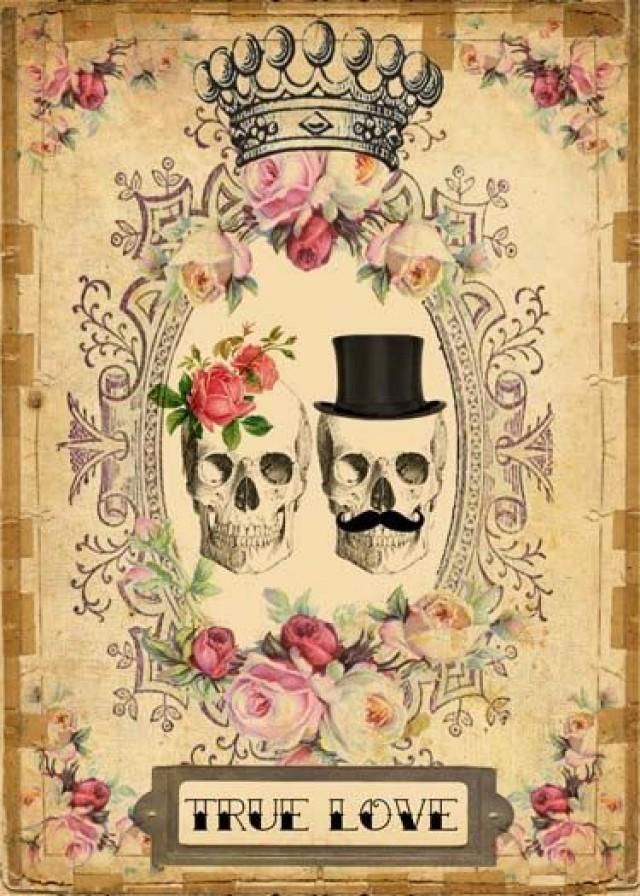 INSTANT Digital DOWNLOAD - DIY Printable Gothic Victorian ...