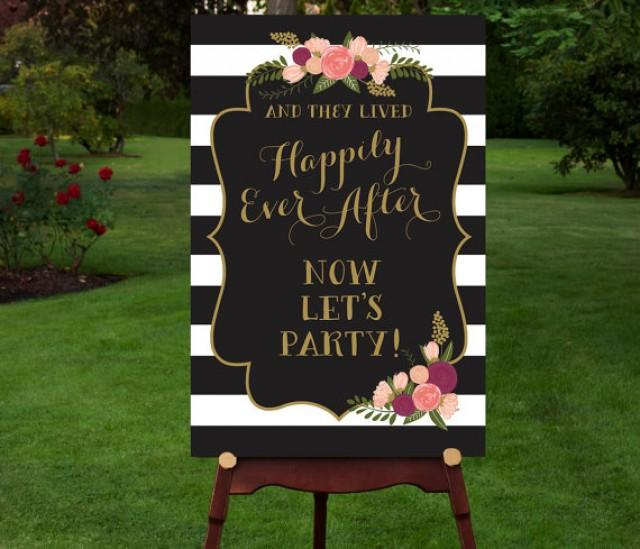 Printable Reception Sign Reception Entrance Let S Party