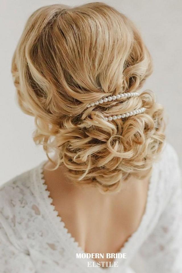 свадебные прически на волосы до плеч 2015 фото