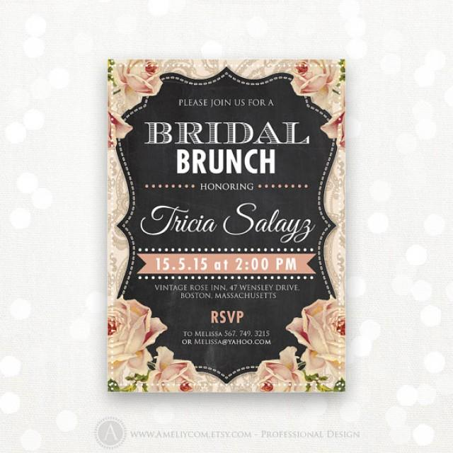 Bridal Shower Tea Party Invitation Wording – Bridal Tea Party Invitation Wording