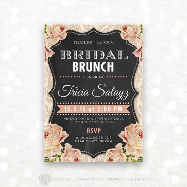 Bridal Shower Tea Party Invitation Wording – Tea Party Invitations Bridal Shower