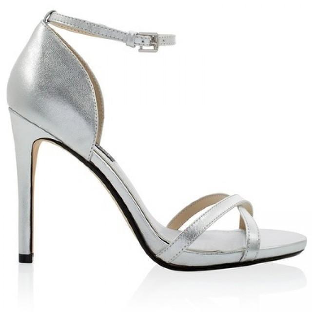 silver ankle strap heels 2329504 weddbook