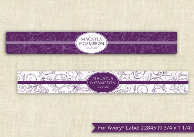 downloadable water bottle label template for avery 22845 9 3 4 x 1 1 4 editable text. Black Bedroom Furniture Sets. Home Design Ideas