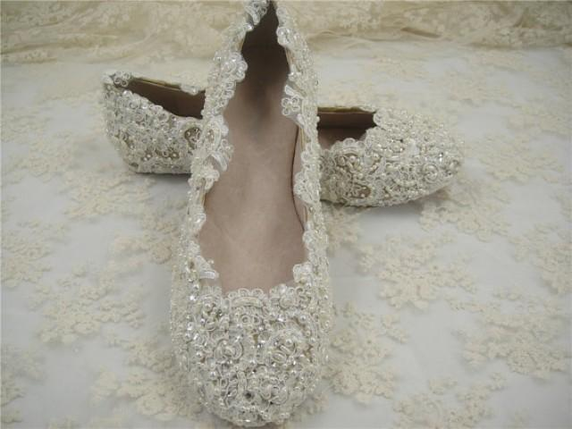 d7afef2359e3fc Flat Wedding Shoes  2 - Weddbook