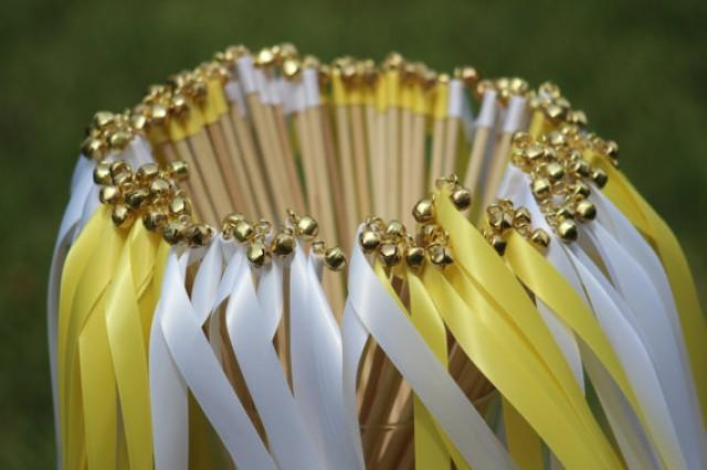Diy Wedding Bell Decorations Wands With Bells Party Streamers