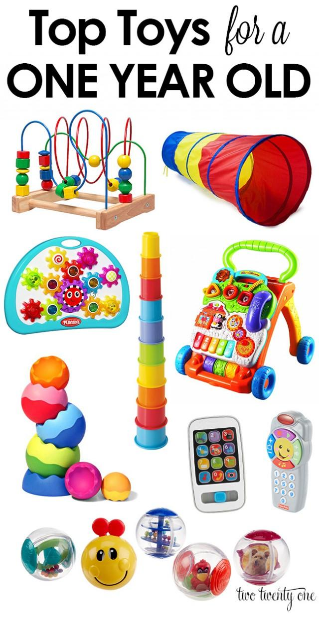 Top toys for a one year old weddbook
