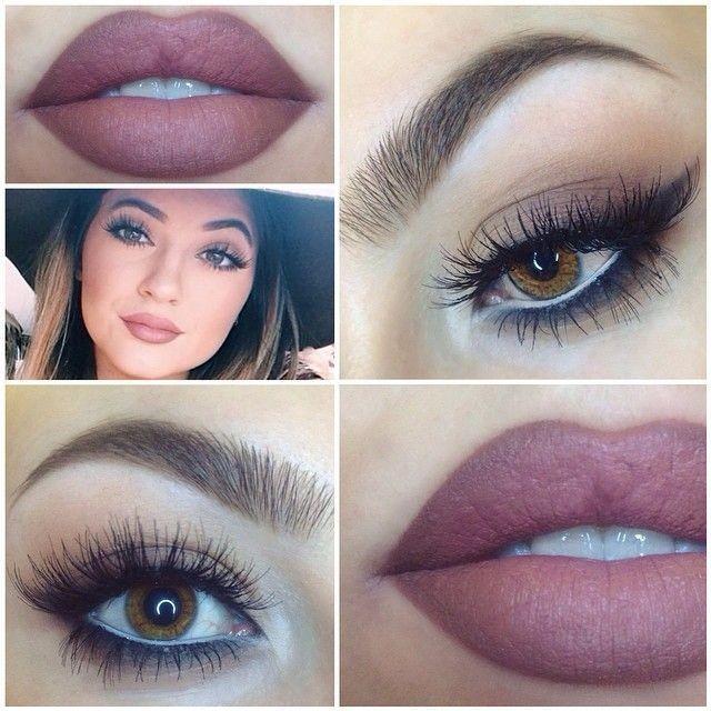Kylie jenners makeup