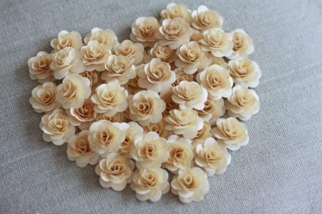 100 pcs birchwood flowers natural color rose flowers for Natural rose colors