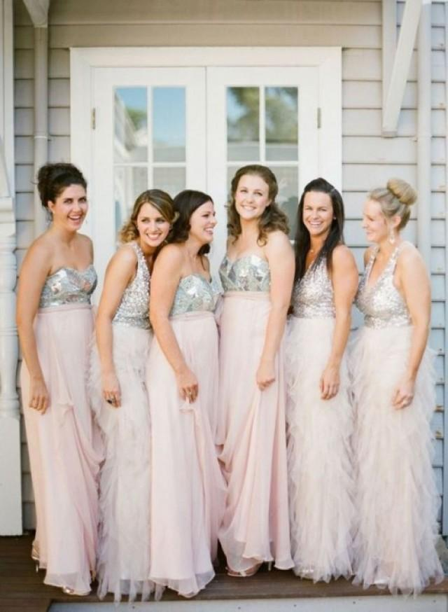 d24f883116 19 Charming Bridesmaids  Dresses With Ruffles
