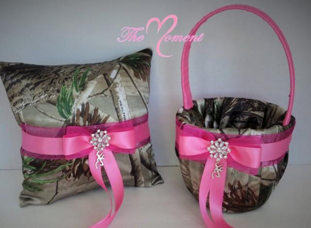 Realtree Camo Ring Bearer Pillow