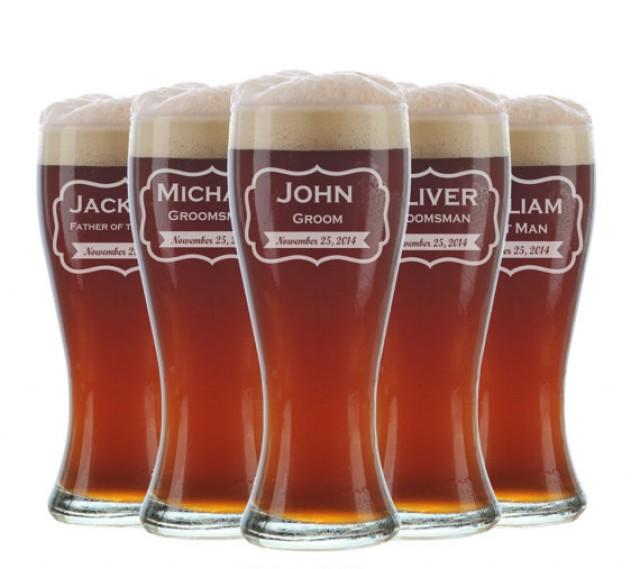 ... Glasses, Glasses, Custom Engraved Pilsner Glass, Wedding Party Gifts