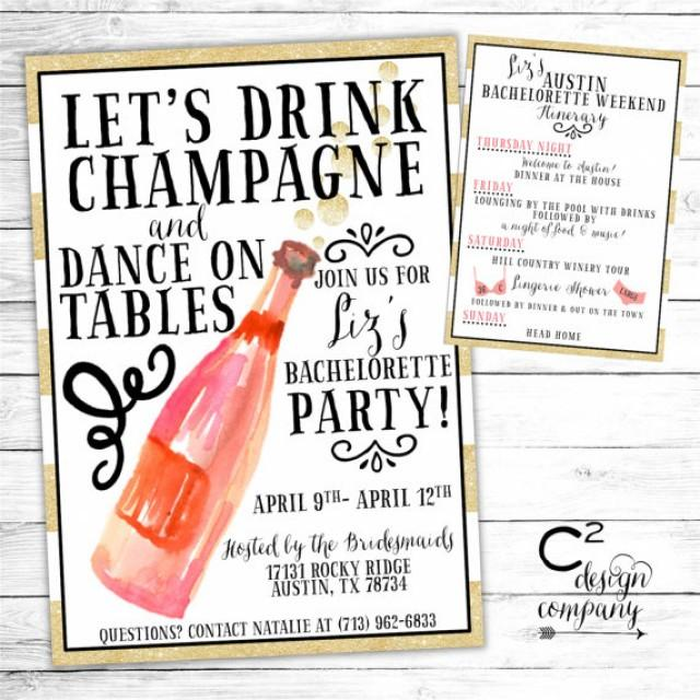 Let S Drink Champagne And Dance On The Table
