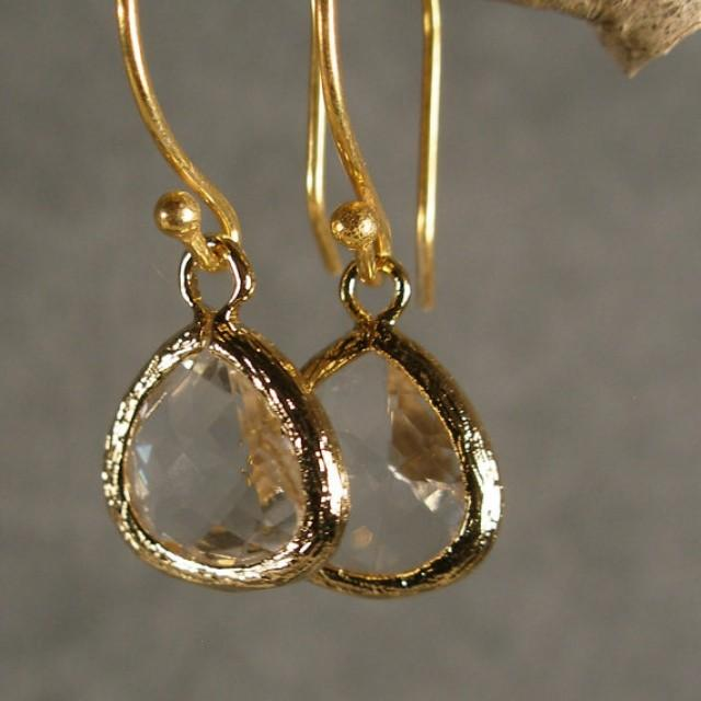 ... Bridal Earrings, Bridesmaid Jewelry, Bridesmaid Gift Ideas (410G