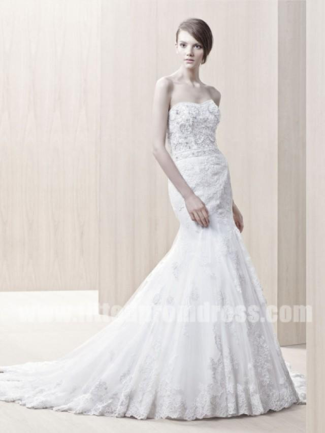 wedding photo - Enzoani Gerry Flare Tulle Wedding Gowns