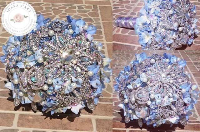 wedding photo - ramo de broches