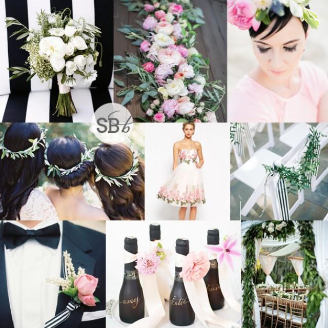 0a1c63c92e2a Botanical Stripe Wedding Inspiration