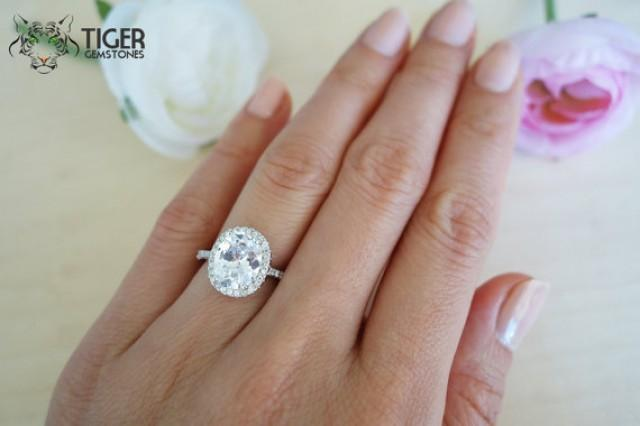 Stone Silver Engagement Ring Settings For O