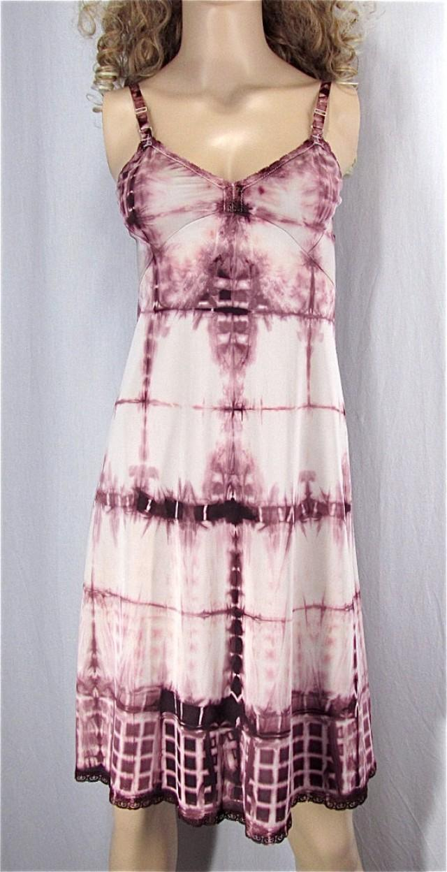 83992e0b64f Bohemain Nightgown 32 XSmall Tie Dye Slip Dress Upcycled Clothing Vintage  Lingerie Hand Dyed Festival Dress Sexy Lingerie Boho Bridal Gift