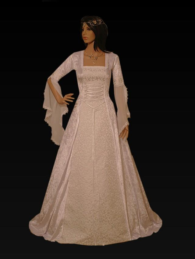 medieval dress handfasting dress renaissance dress