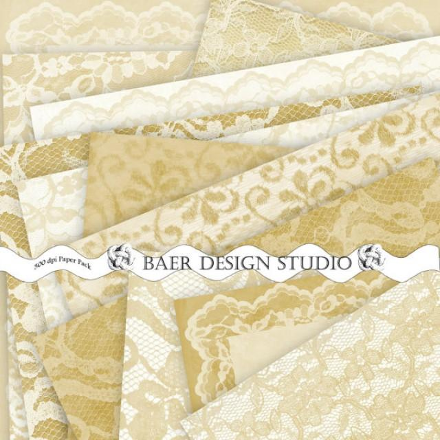 gold lace digital papergold wedding paper 50th anniversary invitation paper vintage gold 12x12 scrapbook paper hochzeitseinladung