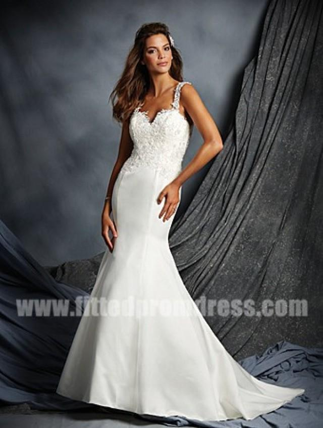 wedding photo - Alfred Angelo 2525 Jeweled Neckline Wedding Gowns