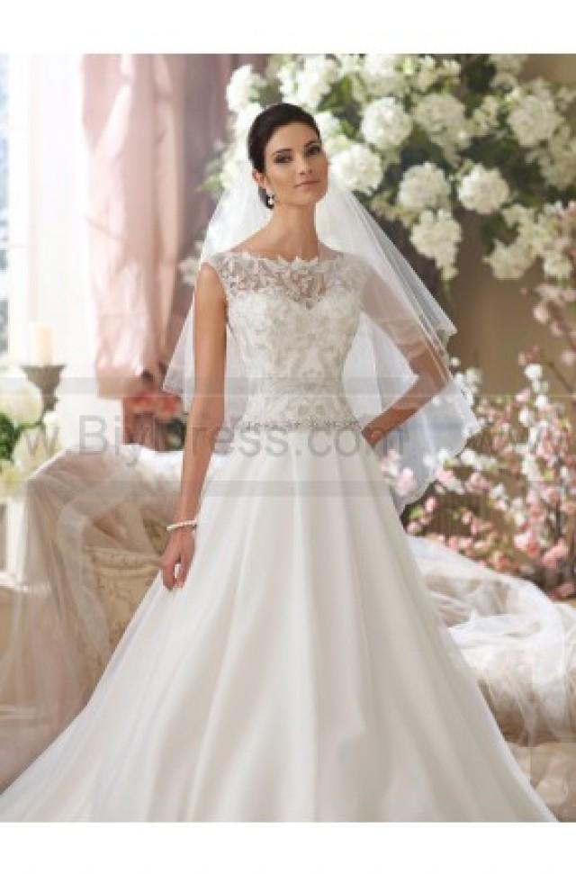 David tutera for mon cheri 214202 tenley wedding dress for Mon cheri wedding dress prices