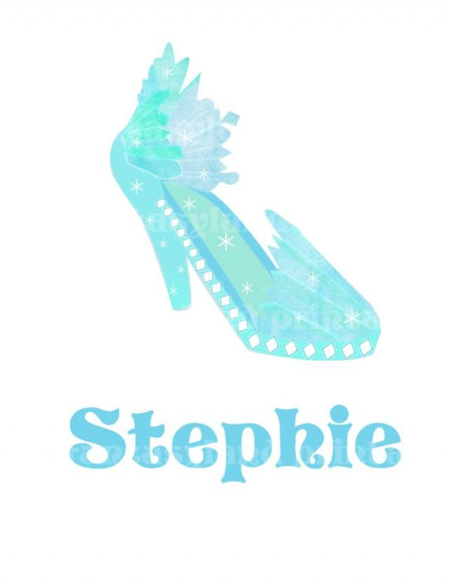 elsa princess shoe disney print at home diy printable iron