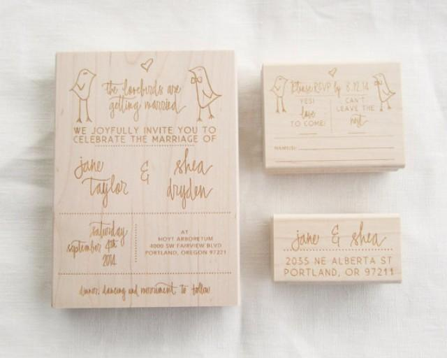 Personalized Stamps For Wedding Invitations: Wedding Invitation Stamp Suite