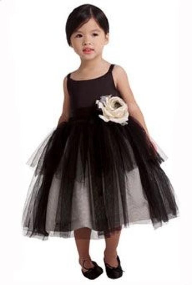 wedding theme flower girl dresses for a fall wedding 2341293 weddbook. Black Bedroom Furniture Sets. Home Design Ideas