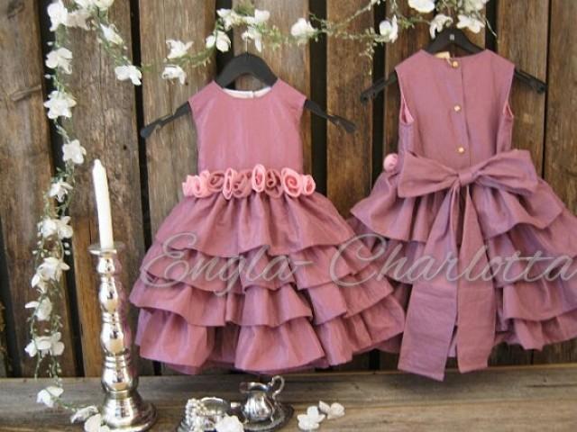 Dusty pink flower girl dresses uk wedding guest dresses dusty pink flower girl dresses uk 10 mightylinksfo