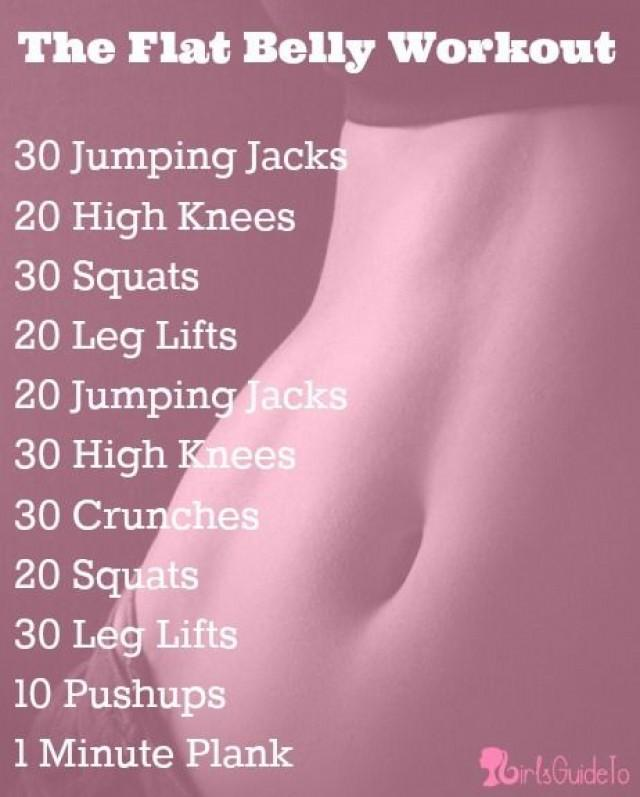 Best workouts to lose belly and thigh fat
