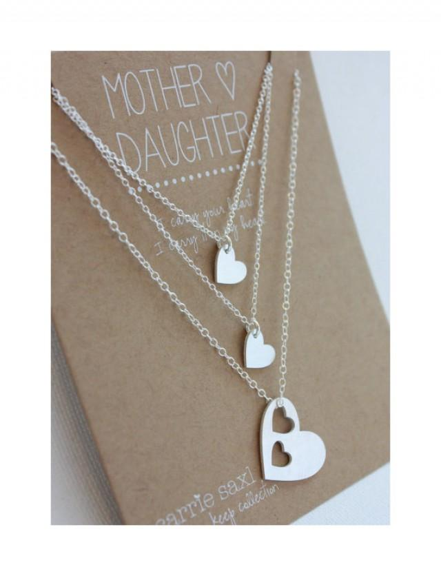 ... Daughter Jewelry - Wedding - Mother Necklace - Jewelry Gift