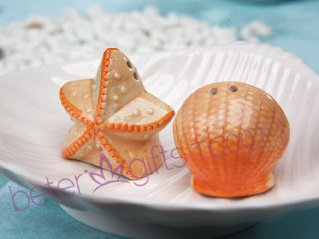 wedding photo - Wedding Souvenirs 200box Seashell and Starfish Salt and Pepper Shakers TC001 from Reliable souvenir companies suppliers on Shanghai Beter Gifts Co., Ltd.