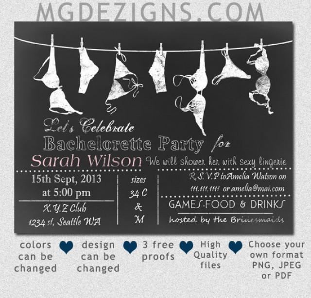 Free Bachelorette Party Invitation Template – orderecigsjuice.info
