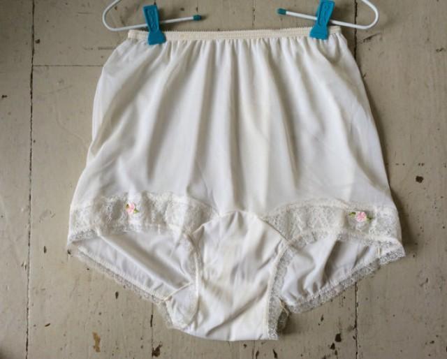 1950s Vintage Nylon High Waisted Sissy Panties Realtex