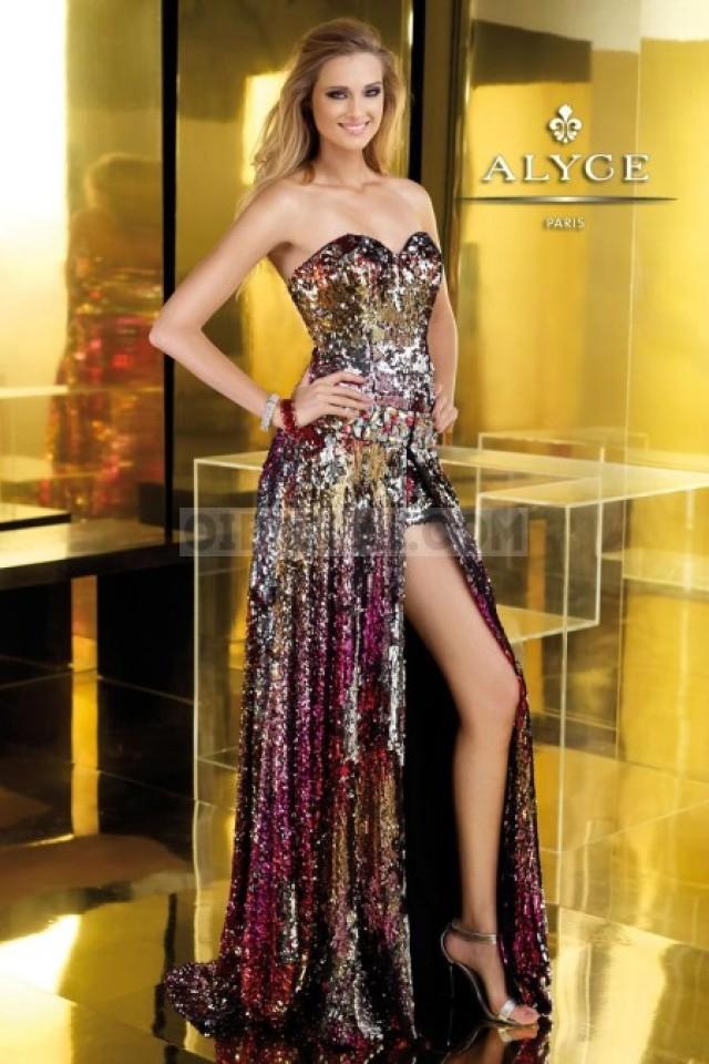 wedding photo - Alyce Paris 2197 Prom Dresses Price in Bodaprom
