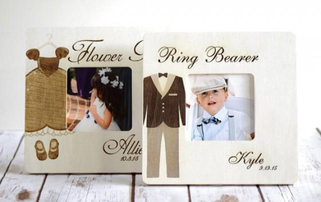 Wedding Gift Ideas For Ring Bearer : Ring Bearer And Flower Girl Gifts, Wedding Party Gifts, Rustic Wedding ...