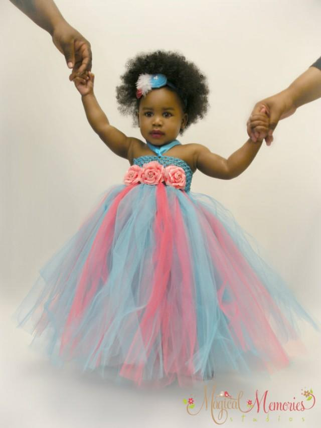 Tutu Dress Baby With Free Matching Headband Girls Birthday Toddler Available In Size 0 24 Months