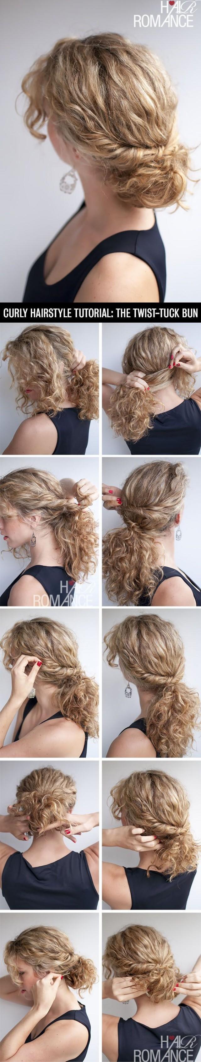 Headband tuck tutorial