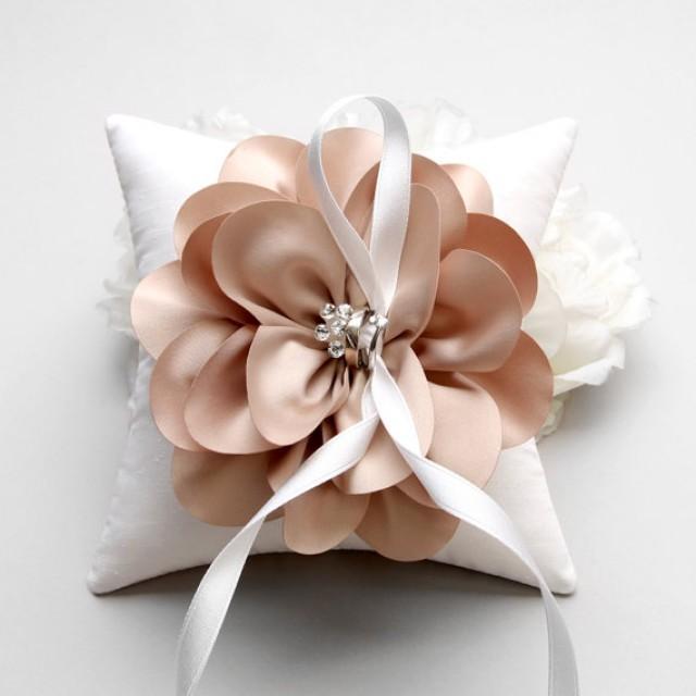 Flower Ring Pillow Wedding Ring Bearer Pillow Bridal Gift Flower Girl