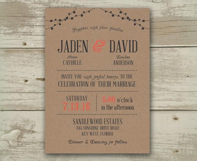 Wedding invitation invitations invite invites announcement for Minted navy wedding invitations