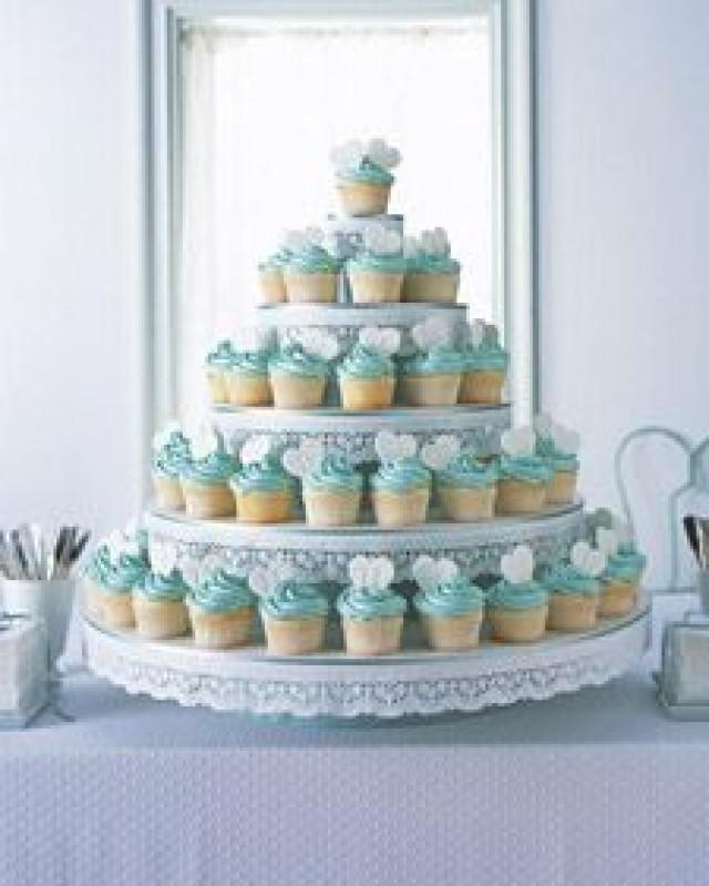 Cupcake cake stand wedding