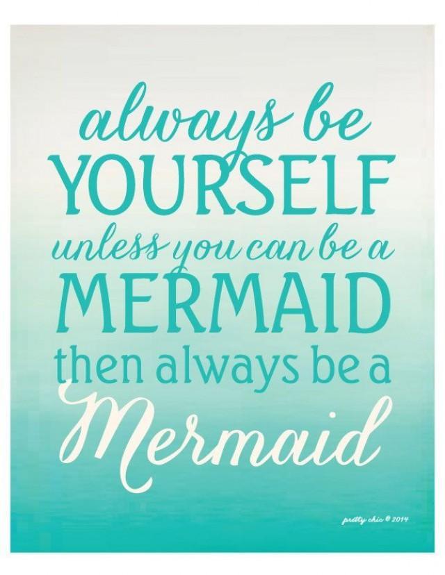 Always be a mermaid modern beach house art for Decor you adore facebook