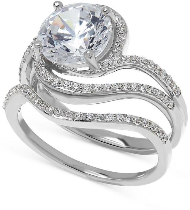 Arabella Swarovski Zirconia Ring