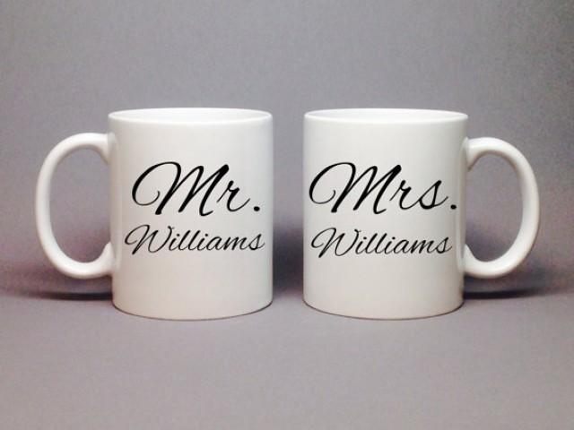 Unique wedding gift idea bridal shower gift mr and mrs for Unique wedding photo gifts