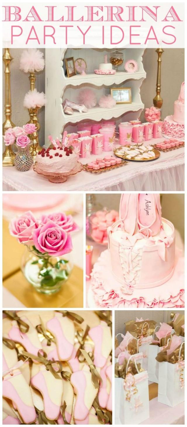 Theme (Pink And Gold) / Birthday