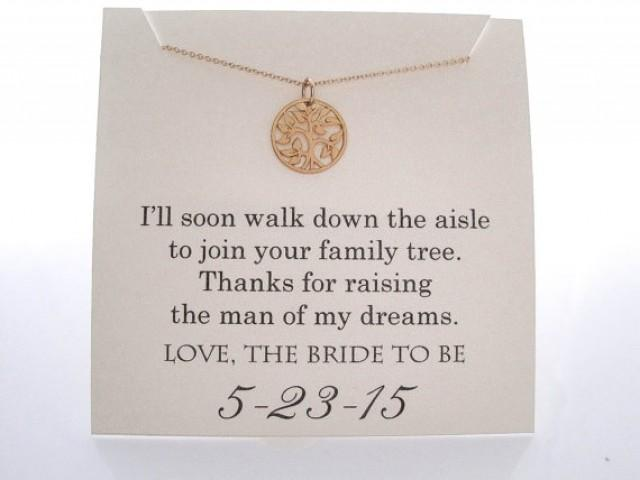 Mother Of The Groom Gift: Mother Of The Groom Necklace